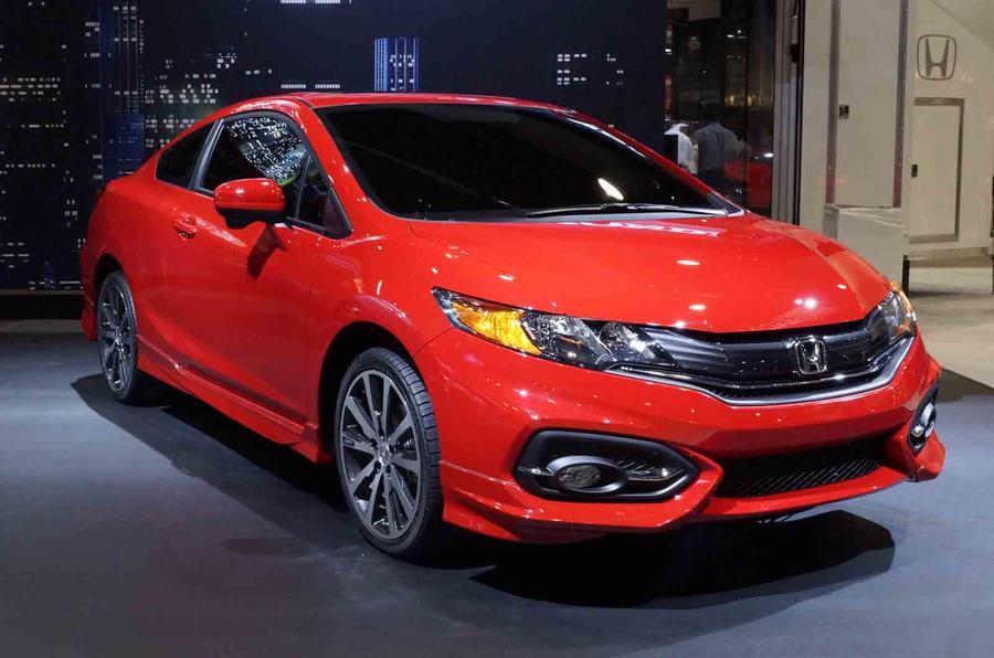 2014 Honda Civic coupe gets SEMA debut