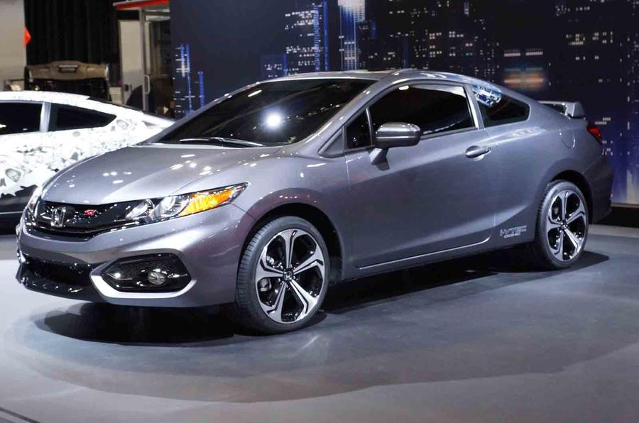 2014 Honda Civic coupe gets SEMA debut