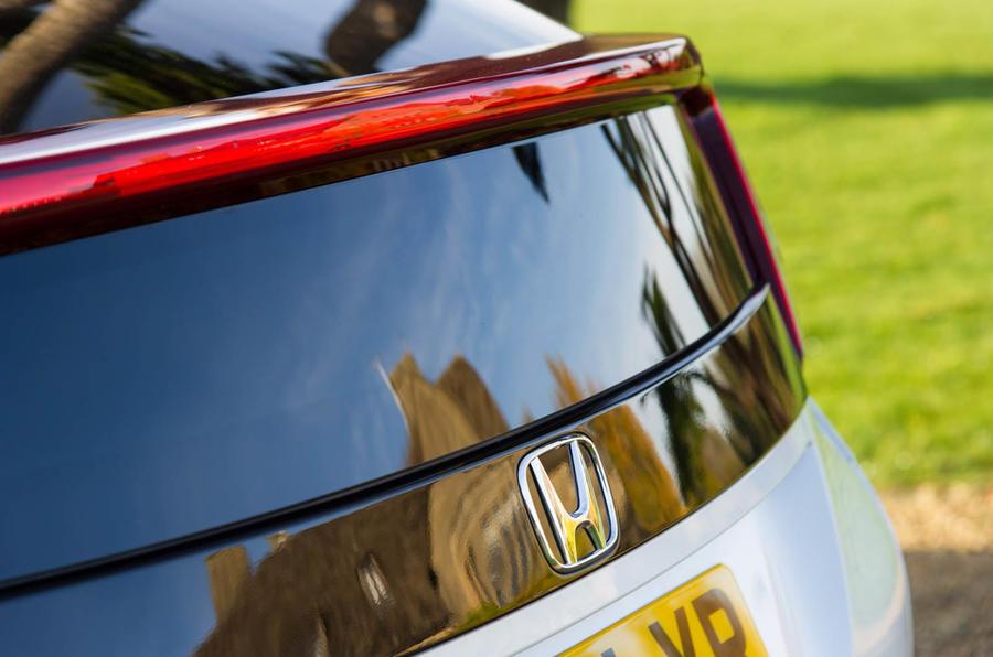 Honda Civic rear window
