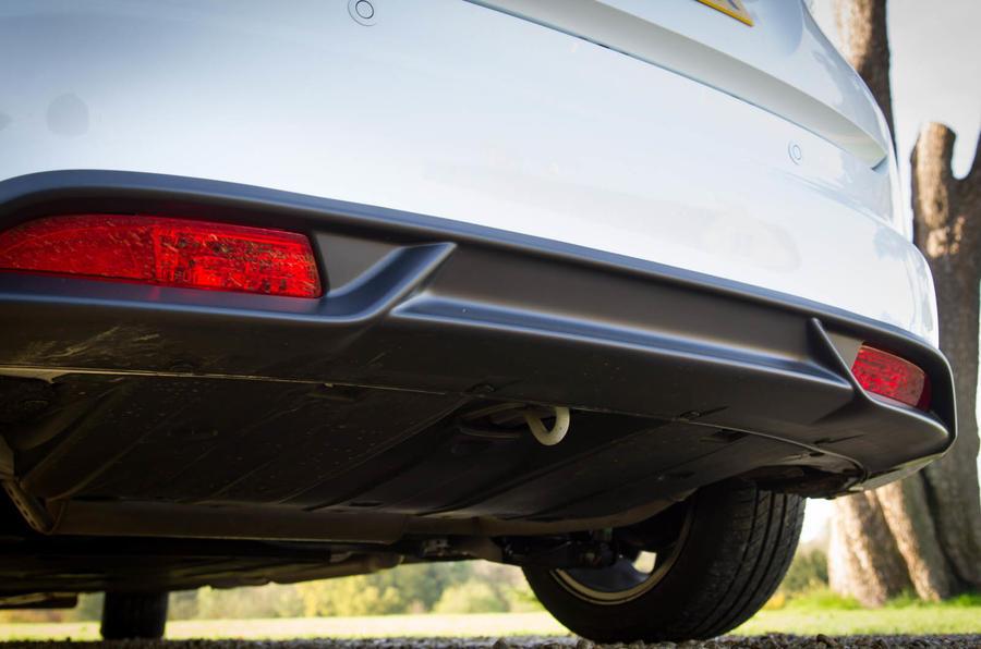 Honda Civic rear diffuser