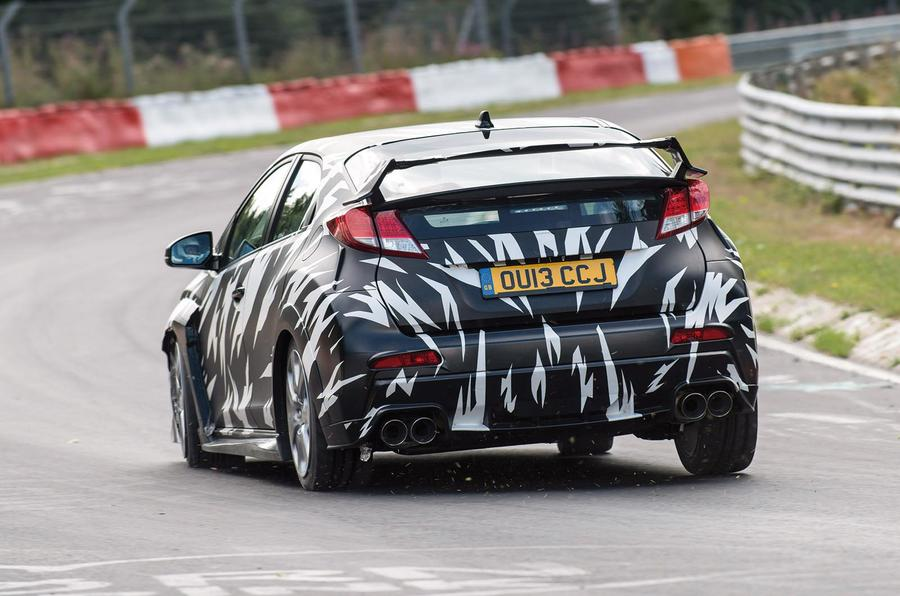 New Honda Civic Type R - first details