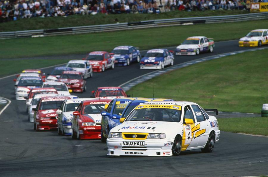 History Of The British Touring Car Championship In