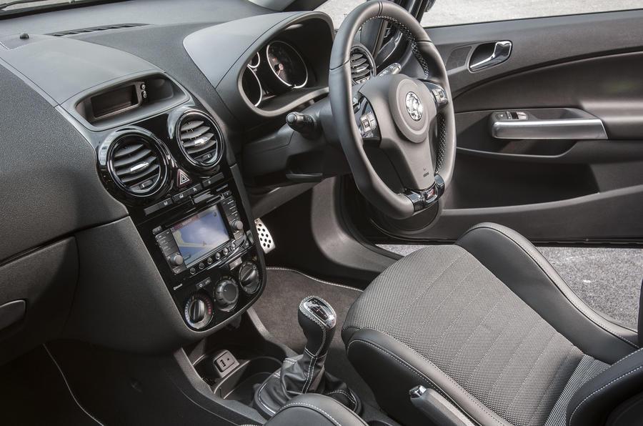 Vauxhall Corsa VXR Clubsport interior