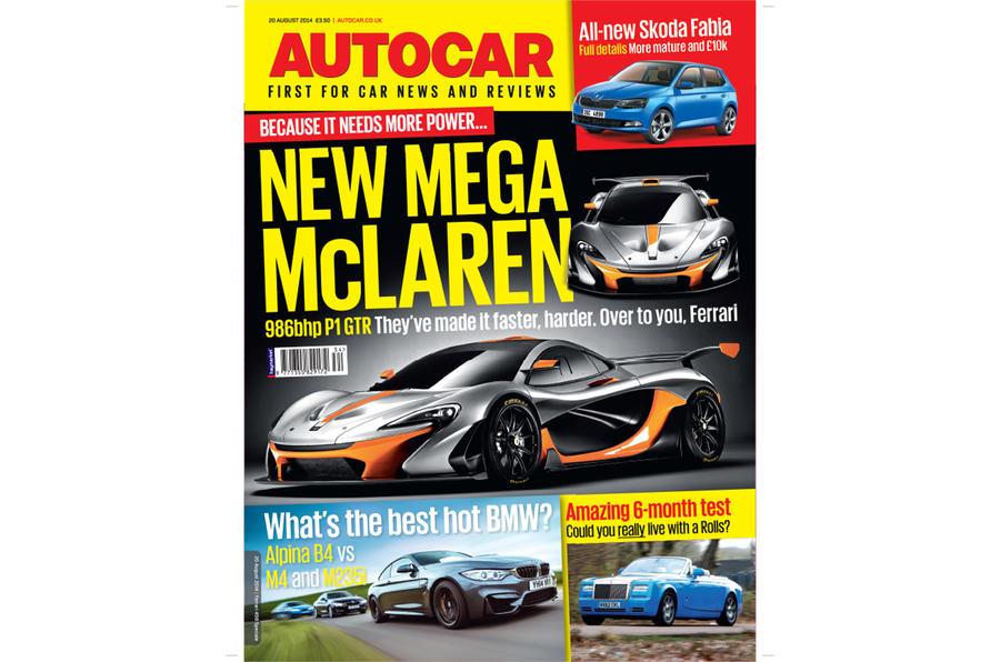 Autocar magazine 20 August preview