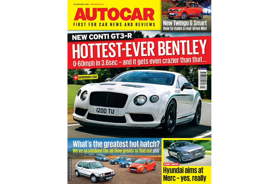 Autocar magazine 18 June preview