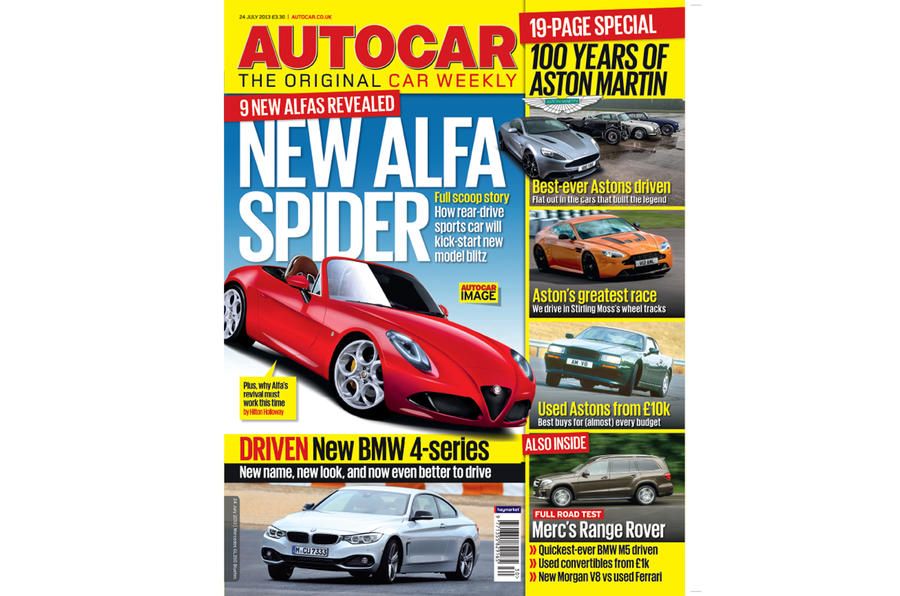 Autocar magazine 24 July preview