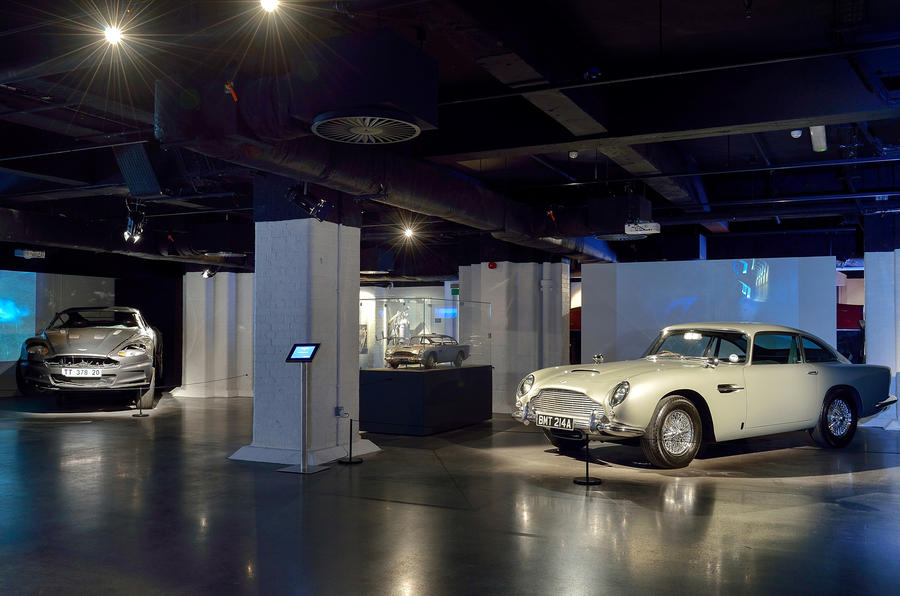 Bond in Motion exhibition - picture special