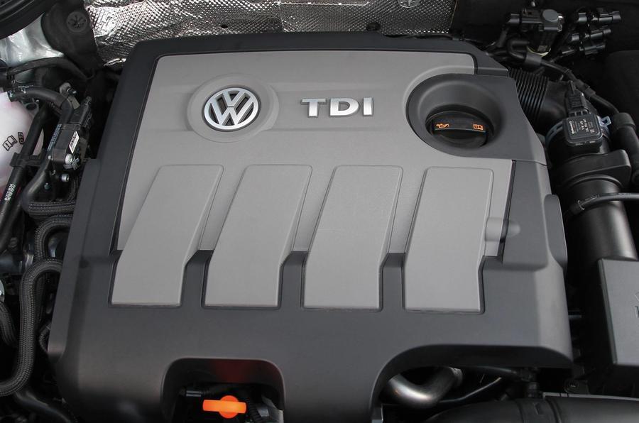 2.0-litre Volkswagen Beetle diesel engine