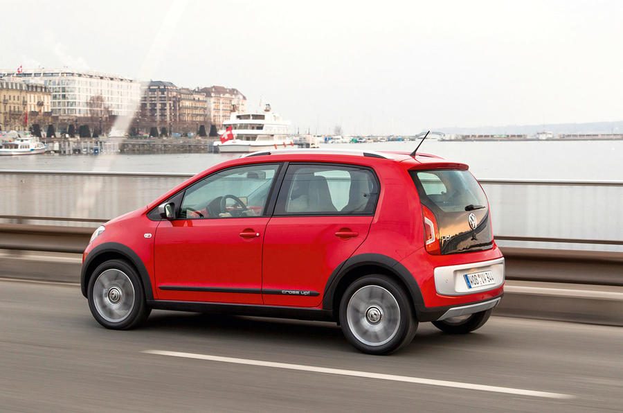 Volkswagen CrossUp first drive