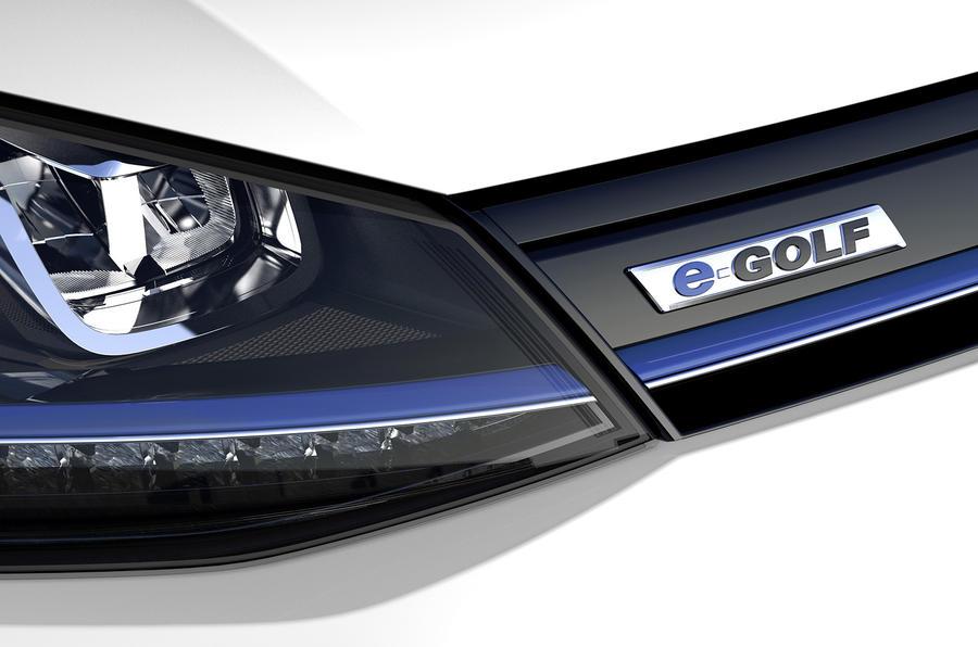 LA motor show 2013: Volkswagen e-Golf