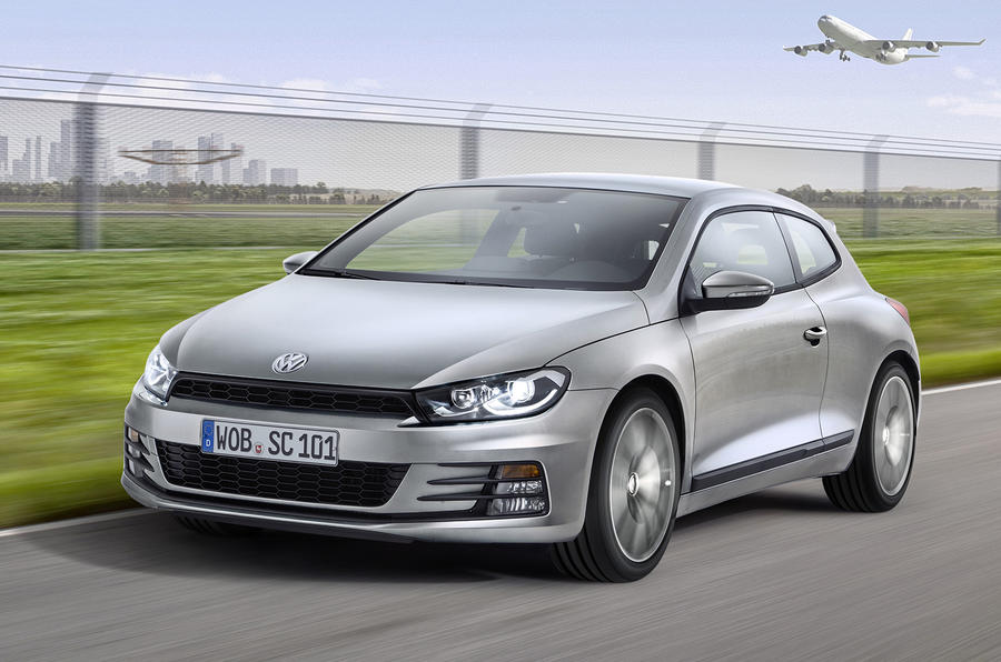 Facelifted Volkswagen Scirocco revealed