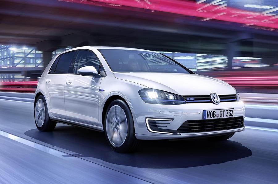 Volkswagen Golf GTE revealed ahead of Geneva debut