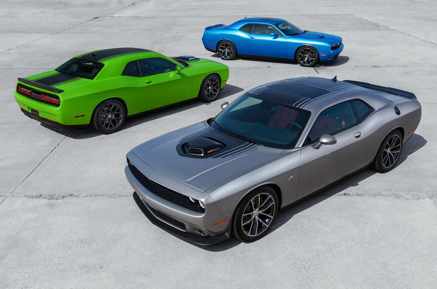 More power for revised Dodge Challenger