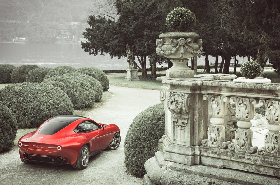 Touring Superleggera Disco Volante driven