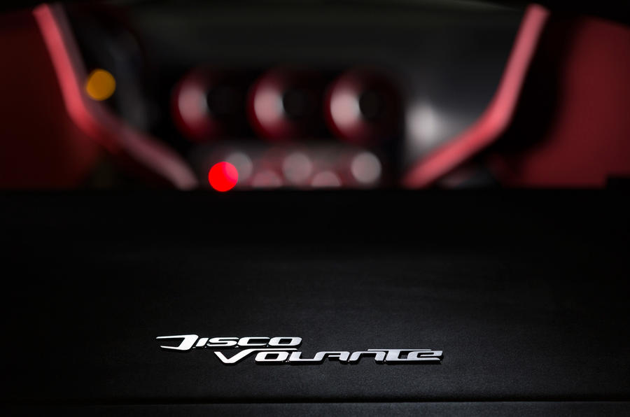 Touring Superleggera Disco Volante driven