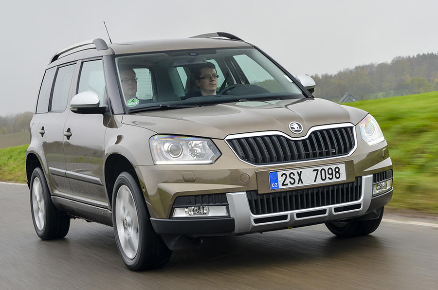 2014 Skoda Yeti Outdoor first drive review