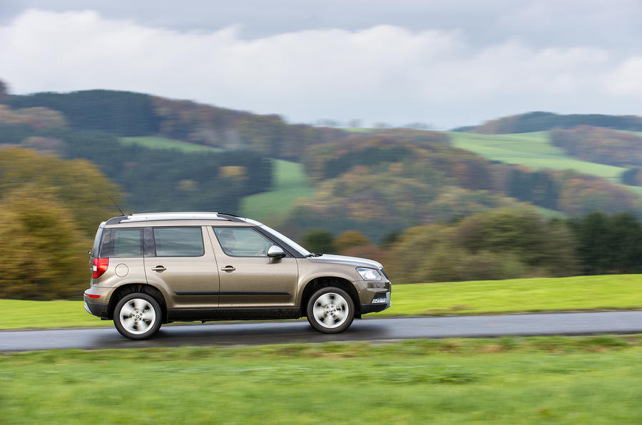 Skoda Yeti Outdoor side profile