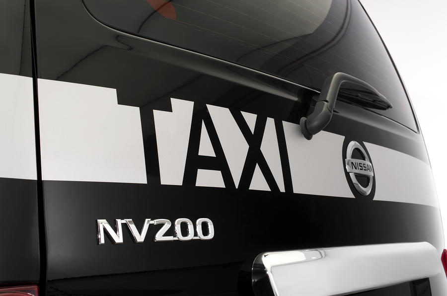 Nissan NV200 Taxi comes to London