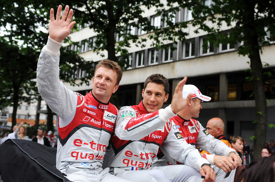 Allan McNish steps down from Audi Sport driving seat