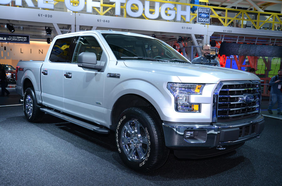 2015 Ford F150 unveiled