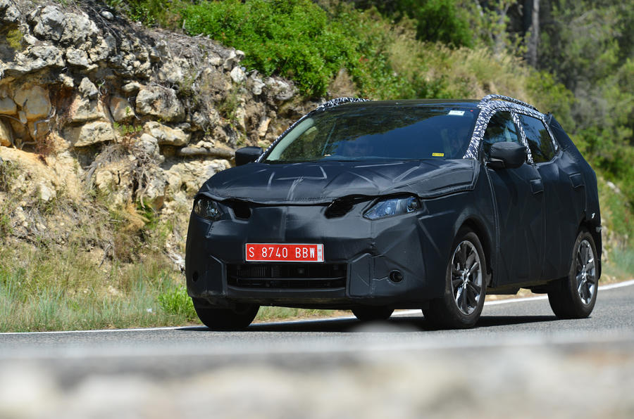 The first drive in a new Nissan Qashqai prototype