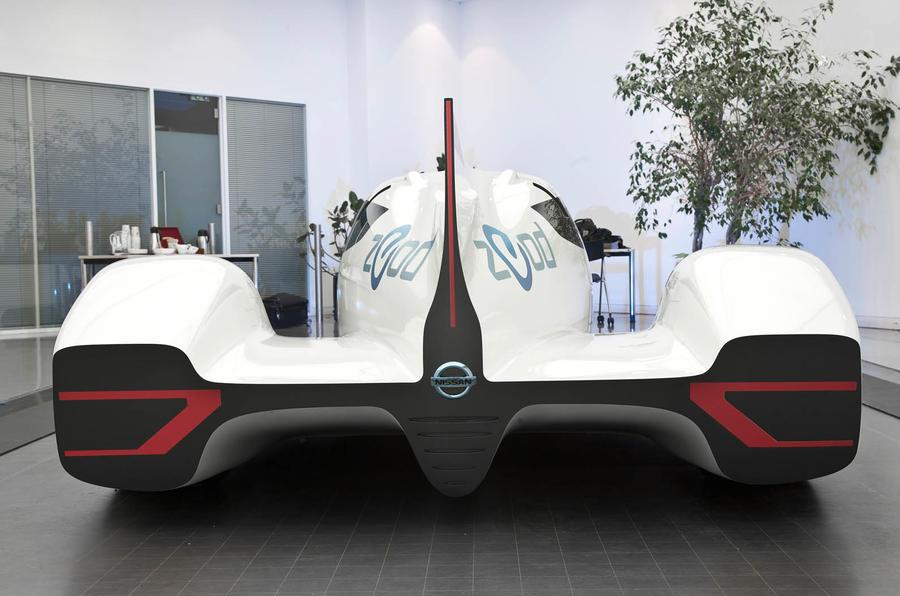 Nissan unveils radical hybrid Le Mans racer