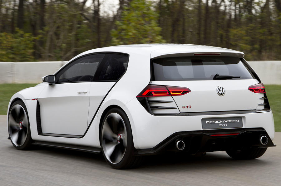 VW Golf Design Vision GTI rear