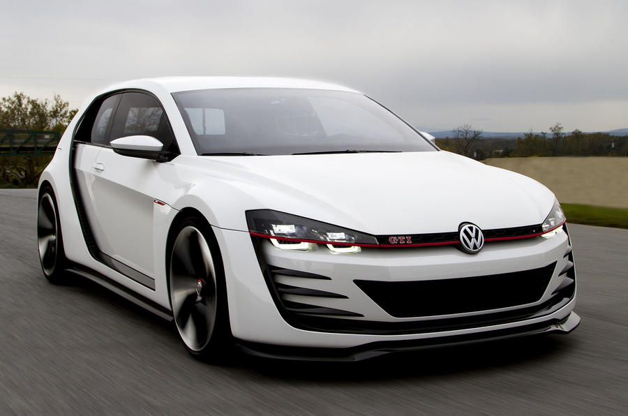 VW Golf Design Vision GTI first drive review