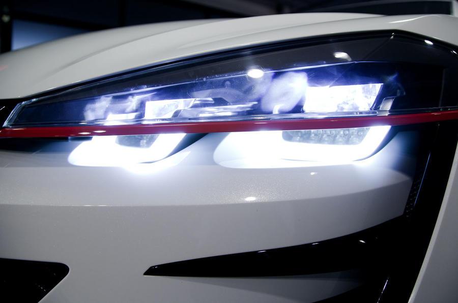 VW Golf Design Vision GTI LED headlights
