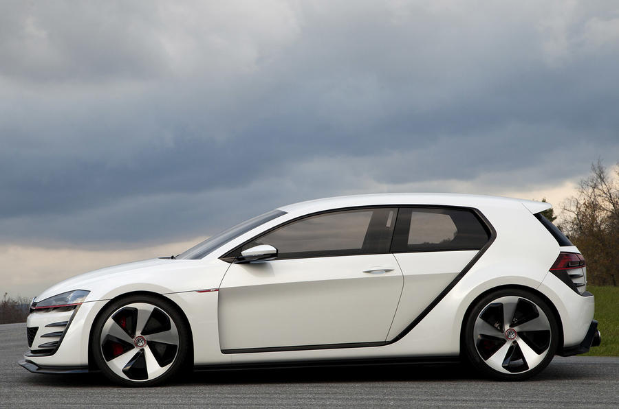 VW Golf Design Vision GTI side profile