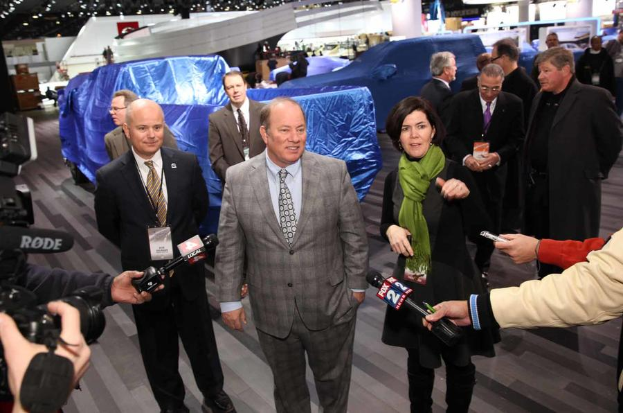 Detroit motor show live blog and gallery