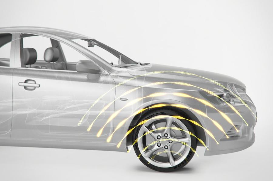 Dunlop reveals intelligent tyre concept at Geneva