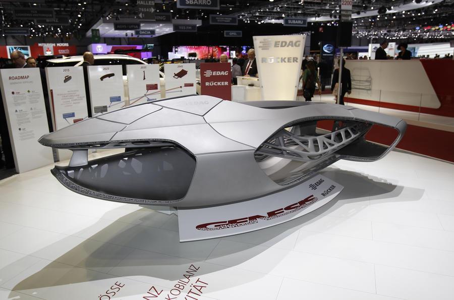 Edag Genesis heralds the 3D printed car