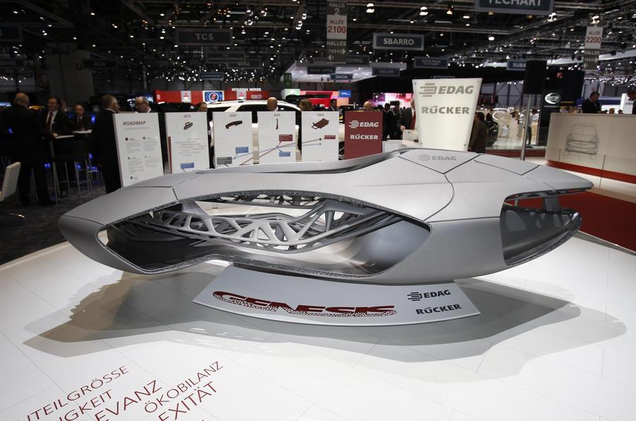 Edag Genesis concept shows new car-building tech