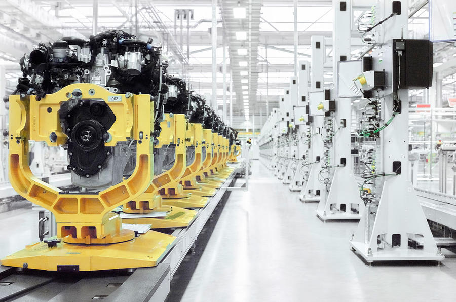 Jaguar Land Rover opens new £500m engine manufacturing plant
