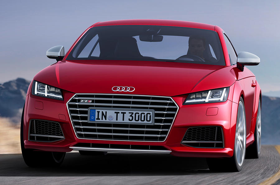 New Audi TT revealed in Geneva