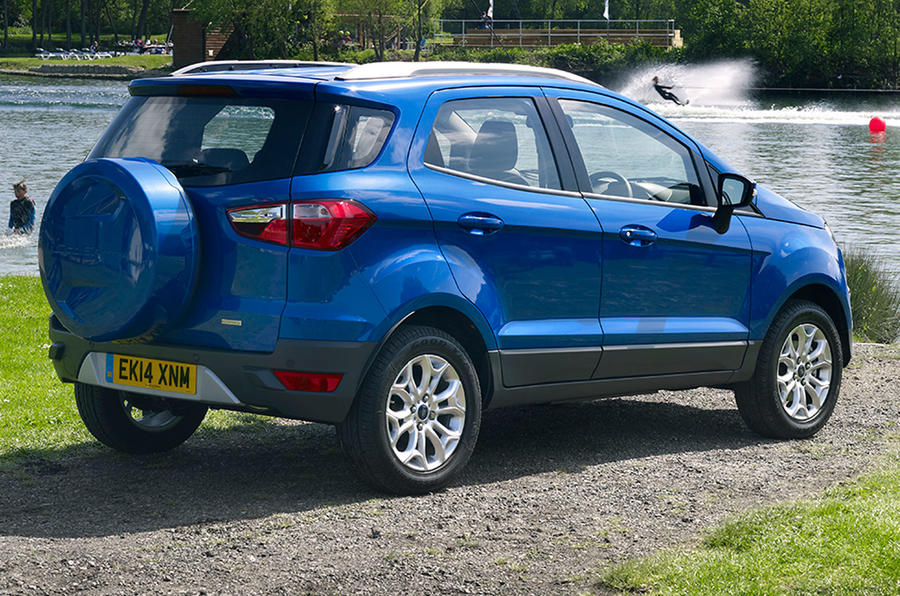 Ford EcoSport 1.0 EcoBoost UK first drive review