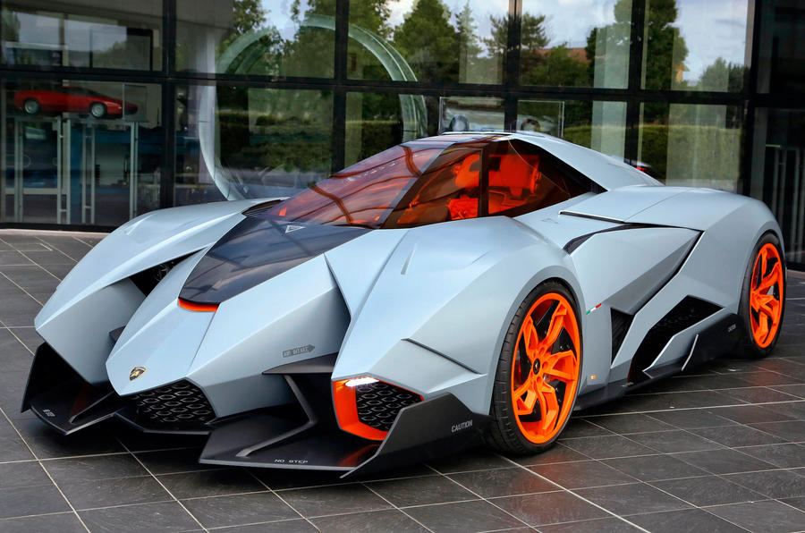Lamborghini Egoista Concept Car Finds New Home In Italy Amazing Pictures