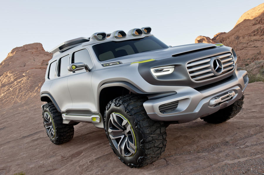 Mercedes plans new G-class for 2017 launch