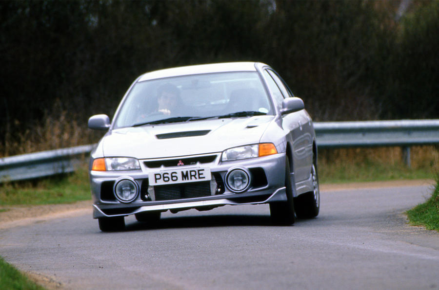 History of the Mitsubishi Evo - picture special