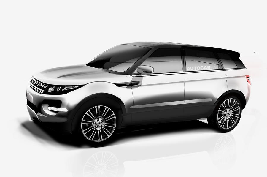 Range Rover Evoque Xl For 2016 Launch Autocar