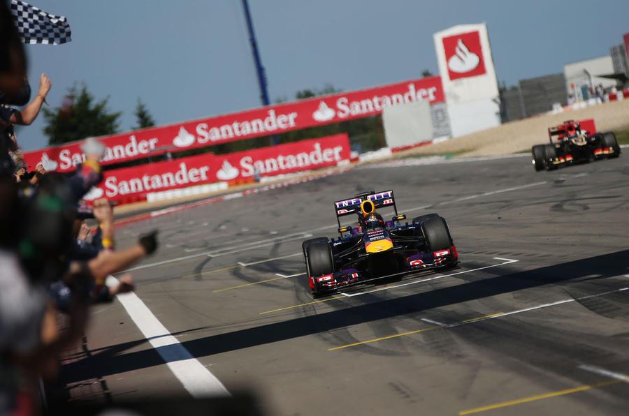 Vettel wins German Grand Prix thriller
