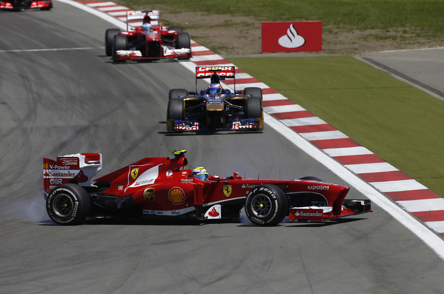 Vettel wins German Grand Prix thriller