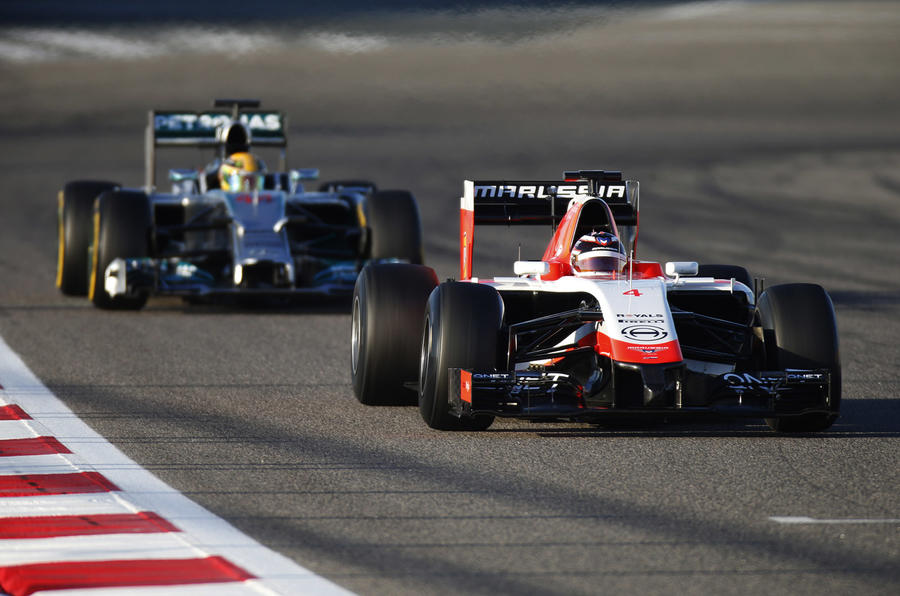 Formula 1 is very quiet about going green