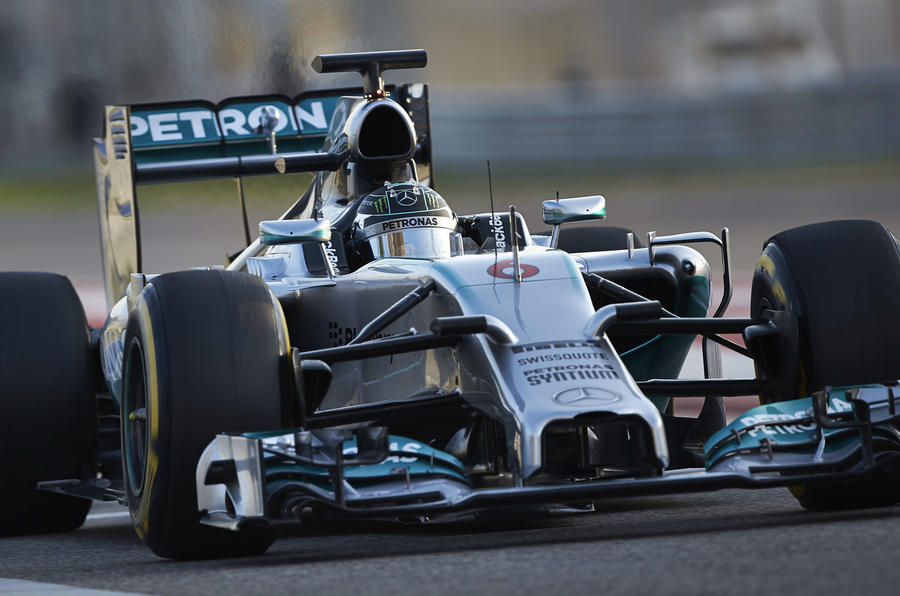 Time to get excited about the return of Formula One? I don't think so