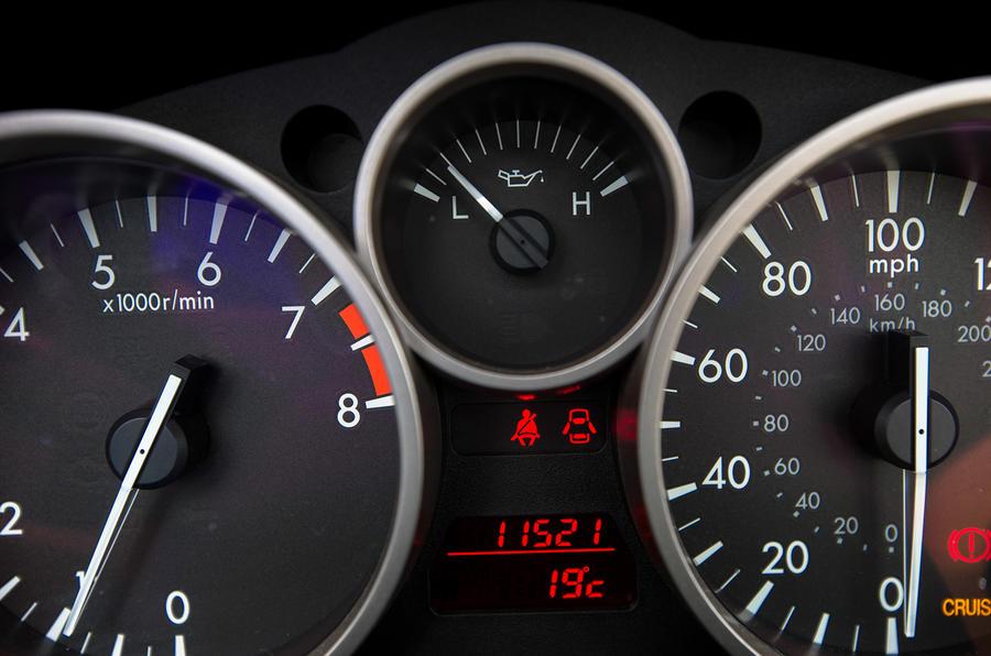 Mazda MX-5 instrument cluster
