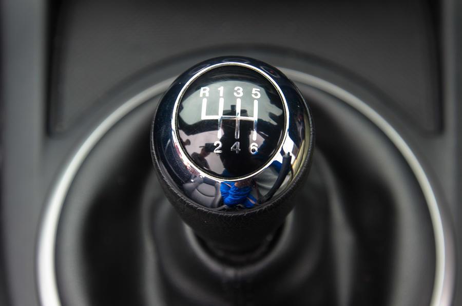 Mazda MX-5 manual gearbox