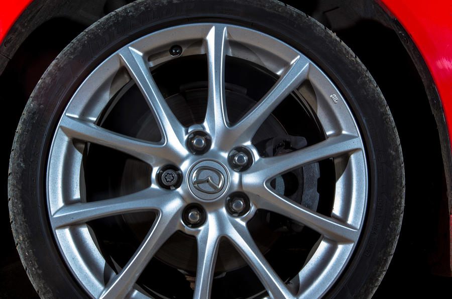Mazda MX-5 alloy wheels