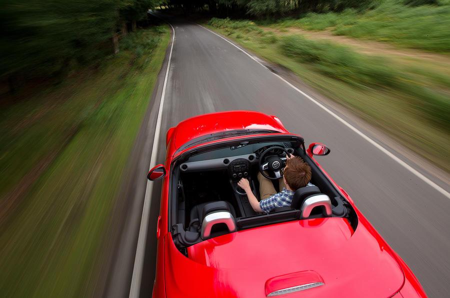 Mazda MX-5 rear end