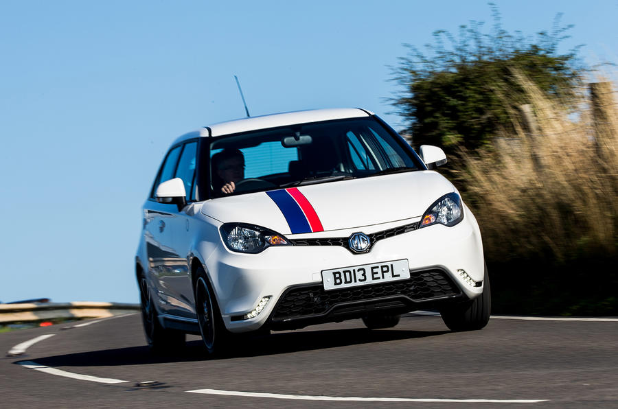 MG 3 UK first drive review